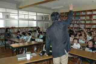 20080703東山東小学校禁煙教育風景3